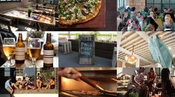 Londres: The White Building. Pizzas, cervezas e ideas en Hackney