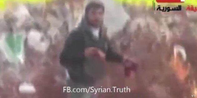 Condena a un vídeo en el que un rebelde sirio arranca el corazón a un soldado y lo