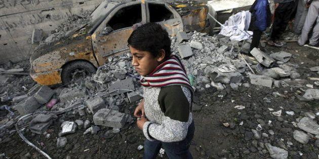 Cientos de miles de niños, atrapados y aterrorizados entre las bombas que no cesan en Gaza