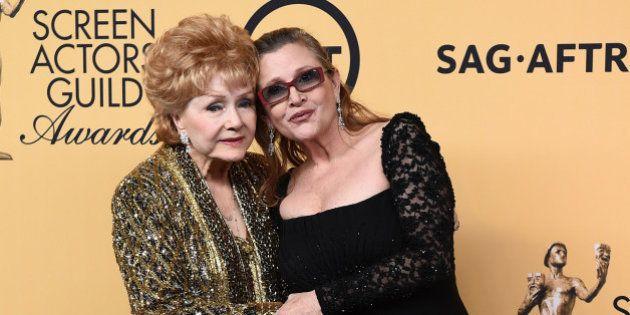 Las últimas palabras de Debbie Reynolds: