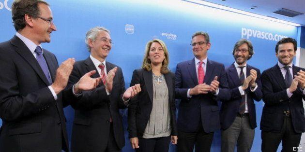 La Junta Directiva del PP vasco elige a Quiroga presidenta por