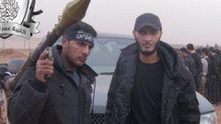 El rebelde sirio que mordió un corazón: