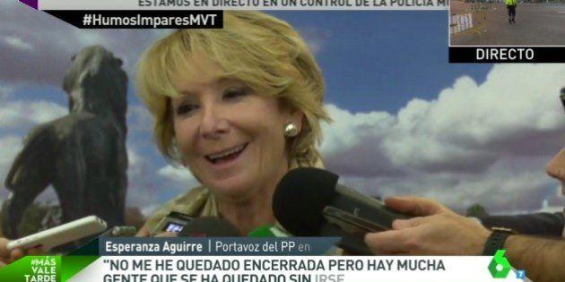 Aguirre niega haber dicho lo que dijo, que estaba
