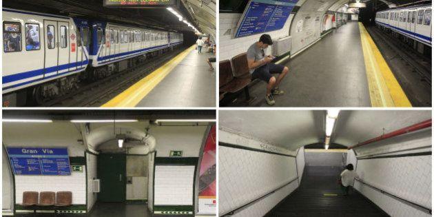 Se cierran 23 estaciones de la Línea 1 de Metro de Madrid por obras desde este