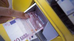 El repago de dos euros en los cajeros, en el punto de