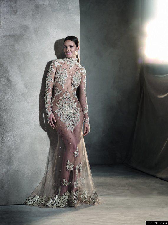 David Muñoz se pone el vestido de las campanadas de Cristina Pedroche (otra