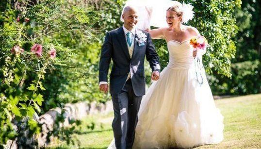 La boda 100% DIY que esta novia había