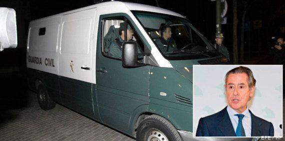 El expresidente de Caja Madrid Miguel Blesa ingresa en la prisión de Soto del