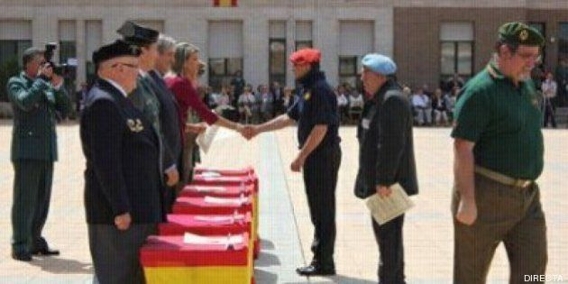 Polémica por la presencia de la delegada del Gobierno en Cataluña en un homenaje a la División