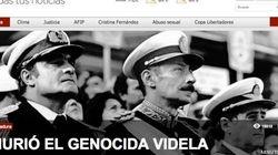 La muerte de Videla, en los medios