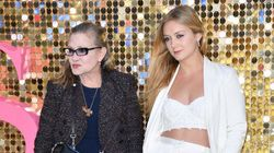 Carrie Fisher crió a su hija, Billie Lourd,