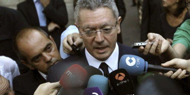 Gallardón, sobre su amago de dimitir: