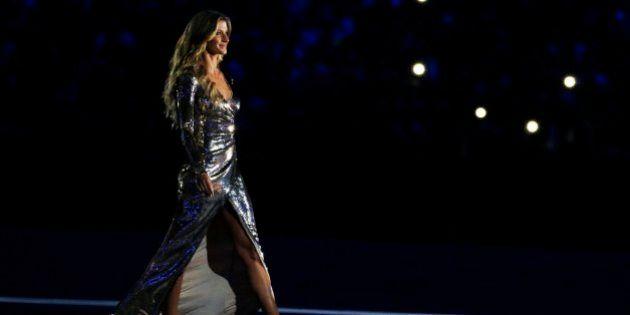 Así fue la esperada aparición de Gisele Bündchen en la inauguración de Río