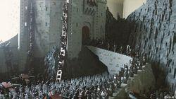 'El señor de los anillos', en 150.000 piezas de Lego