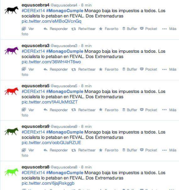 Robots para lograr que #MonagoCumple sea trending topic en