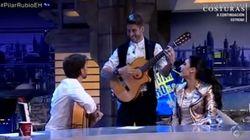 Sergio Ramos sorprende a Pilar Rubio en El Hormiguero