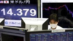 La bolsa de Tokio cae más de un