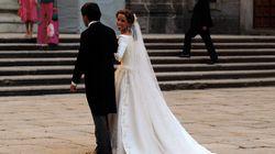 Las fotos de la boda de la hija de Aznar... con lo que sabemos hoy