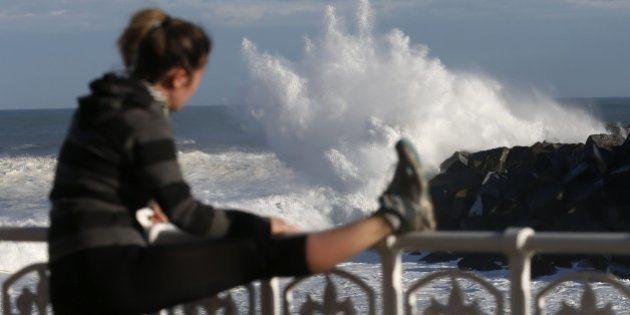 25 fotos impresionantes del temporal de olas en el