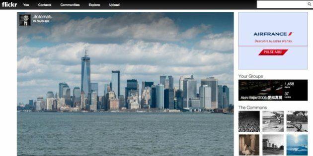 Nuevo Flickr: 1TB de almacenamiento gratis y rediseño
