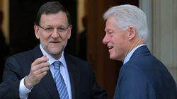 Rajoy con Clinton y el rey: las
