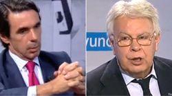 Expresidentes en acción: De los 'dardos' de Aznar al talante de