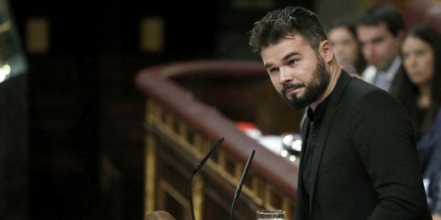 Gabriel Rufián enciende Twitter con este mensaje sobre el independentismo y Cristiano