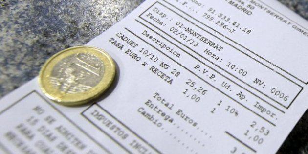 El Constitucional mantiene la suspensión del euro por receta en
