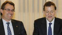 Mas critica a Rajoy por estar