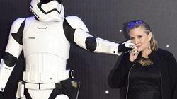 La emotiva foto de Carrie Fisher y Mark Hamill en 'Star Wars