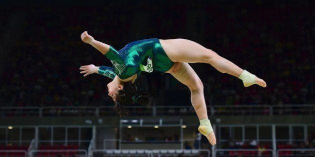 La gimnasta mexicana Alexa Moreno es criticada por su físico... y Twitter sale en su