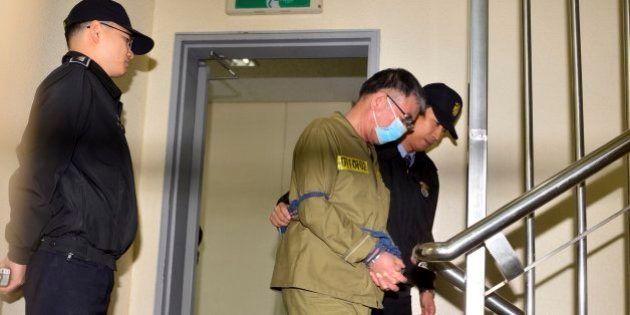 La Fiscalía de Corea del Sur pide pena de muerte para el capitán del ferry hundido en
