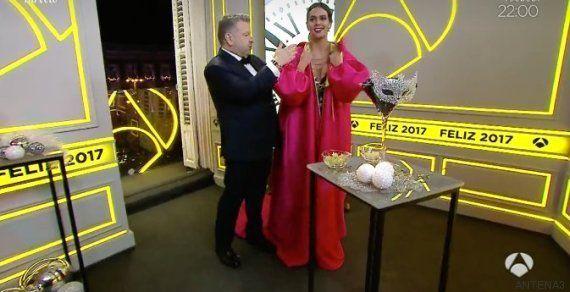 El vestido de Cristina Pedroche en las campanadas