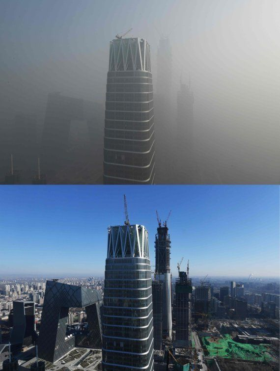 La imagen que muestra el grave problema de contaminación que vive