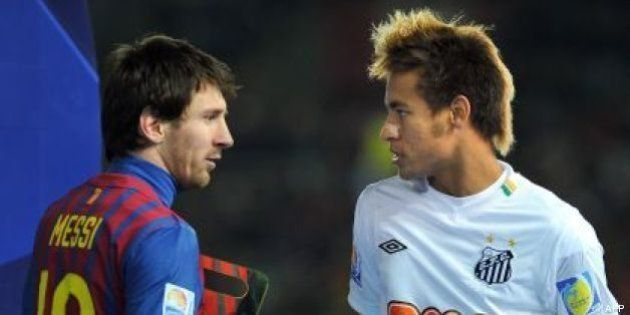 Neymar ficha por el Barcelona para las próximas cinco