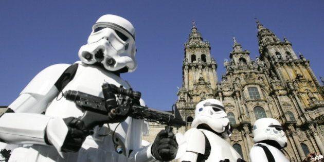 Los soldados imperiales de 'Star Wars' invaden Santiago en el 30 aniversario de 'El Retorno del Jedi'