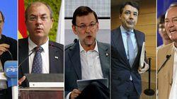 Rajoy lidia con sus barones por el