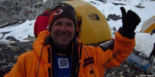 Muere el alpinista catalán Juanjo Garra tras pasar cuatro días al raso en el
