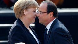 Merkel pellizca a Hollande por la rebaja de la