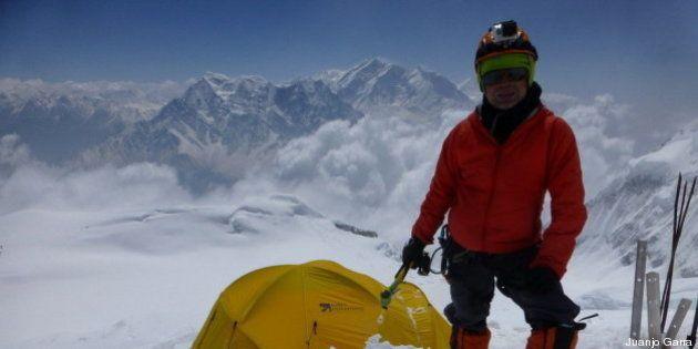 El cuerpo del alpinista Juanjo Garra permanecerá en la montaña donde