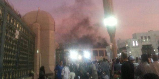Un suicida hace estallar una bomba cerca de la Mezquita del Profeta, en