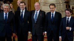 Rajoy recibió a Felipe González en Moncloa el día de la entrevista de