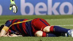 Crack: Messi se lesiona ante Las Palmas y estará 8 semanas de