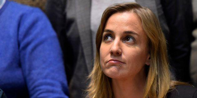 Tania Sánchez, titular de la Comisión de Defensa en el