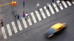 ¿Qué pensarías si te dijeran que cruzar la calle será el último acto de tu