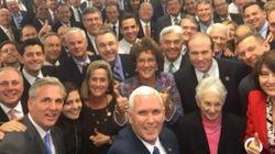 ¿No te choca nada en este 'selfie' de los republicanos que genera tantas