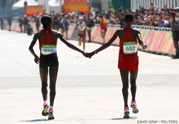 El espíritu olímpico, resumido en una emotiva