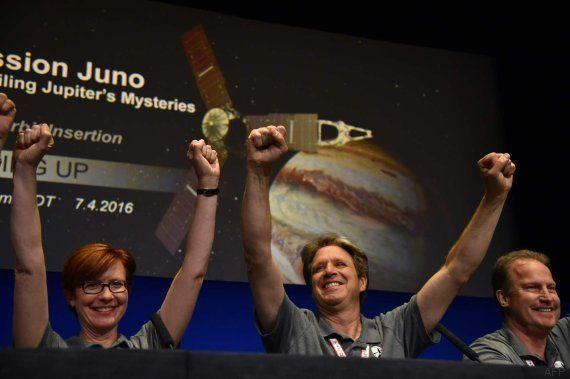 La sonda Juno ha entrado en la órbita de Júpiter y tratará de descifrar sus