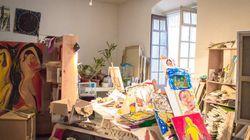 Cuélate en el salón o el taller de 200 artistas en Madrid, solo este