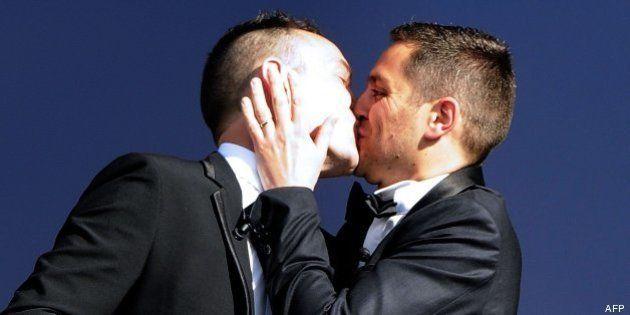 Vincent Autin y Bruno Boileau, primer matrimonio homosexual de la historia de